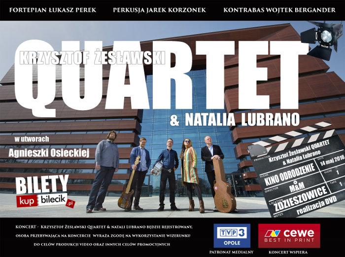 Plakat_mały Krzysztof Żesławski Quartet & Natalia Lubrano.jpeg