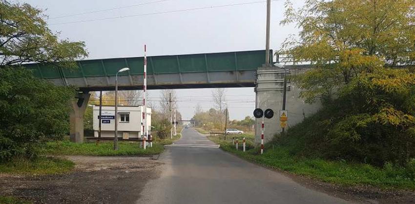Januszkowice - przejazd kolejowy
