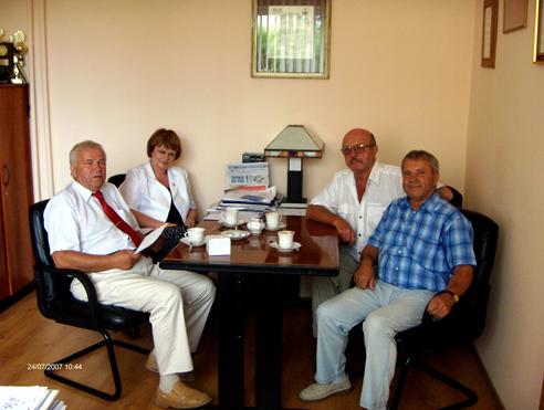 Spotkanie Burmistrza z byłymi mieszkańcami Zdzieszowic
